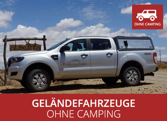 GELÄNDEFAHRZEUGE Ohne Camping